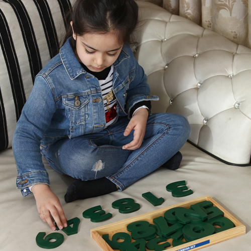 Wooden Alphabet and Number Block